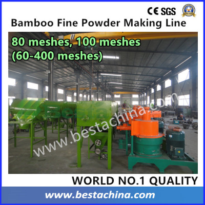 100 Mesh Bamboo Powder Making Machine