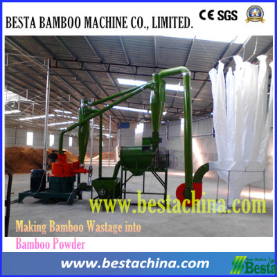 bamboo powder making Machine