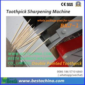 Bamboo toothpick Machine, Toothpick Sharpening Machine