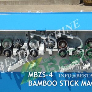 Chopstick Round Stick Making Machine, Bamboo Stick Making Machine