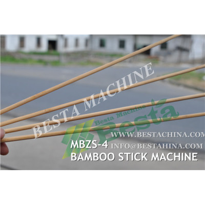 Bamboo Stick Making Machine MBZS-4