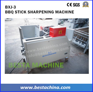 BBQ stick Making Machine, Bamboo Skewer Machine