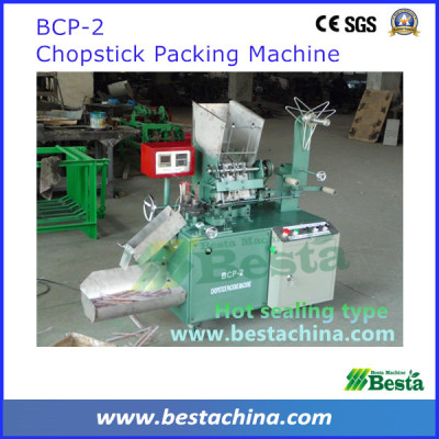 Chopstick Packing Machine, hot sealing chopstick packing machine