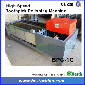 Toothpick Making Machine, high speed toothpick polishing machine