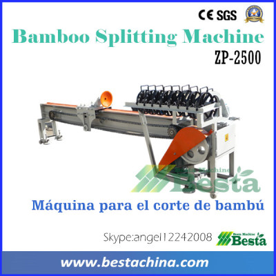 Bamboo Splitting Machine, Bamboo Splitter