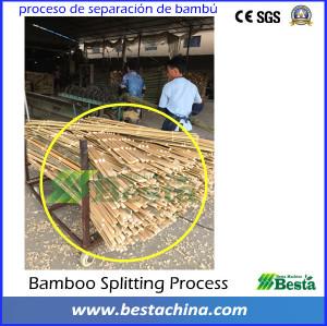 Bamboo toothpick making machine, bamboo splitting machine