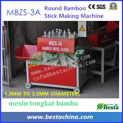 Bamboo Stick Making Machine (MBZS-3A), Bamboo Wool Slicer
