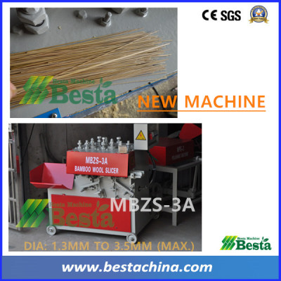 MBZS-3A New Bamboo Stick Making Machines (hot selling)