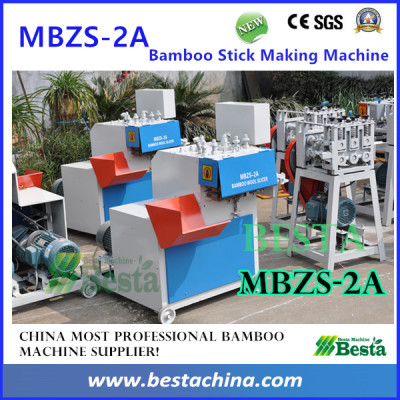 MBZS-2A Bamboo Wool Slicer, Bamboo Stick Making Machines