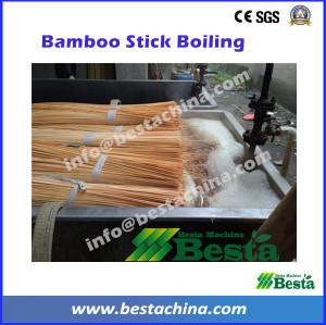 Stick Chemical Treatment, bamboo stick machine
