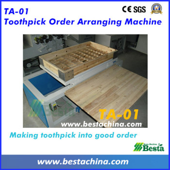 Wooden Toothpick Order Arranging Machine