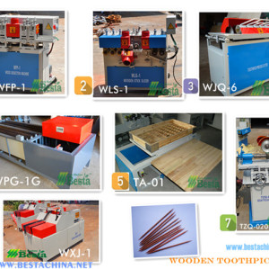 Wooden Toothpick Production Line, toothpick machine