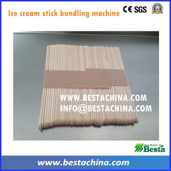helado de máquina de palo de agrupación