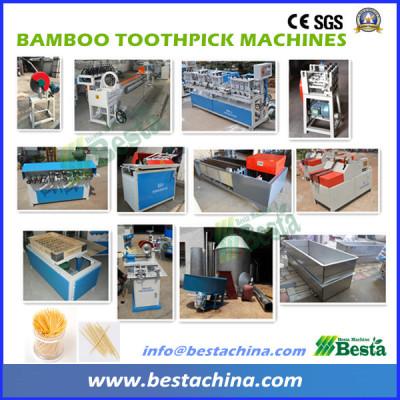 Bamboo Toothpick Machines