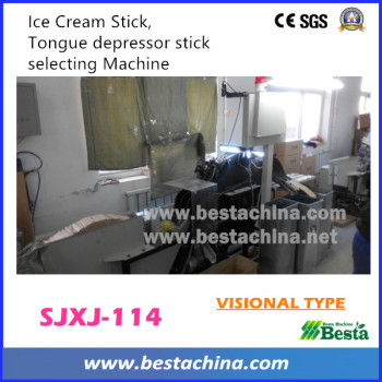 SJXJ-114 Visional Type Tongue Depressor Stick Selecting Machine