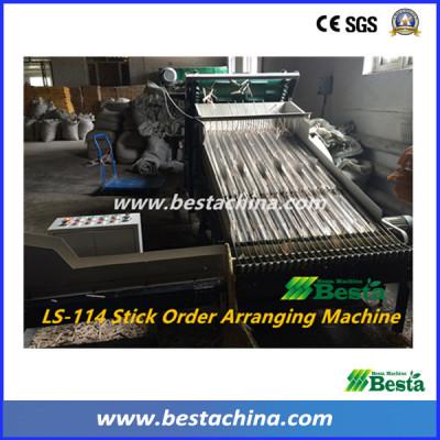 Ice Cream Stick Order Arranging Machine , Tongue depressor sticdk order arranging Machine