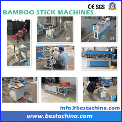 High quality bamboo stick making machine (made in China)