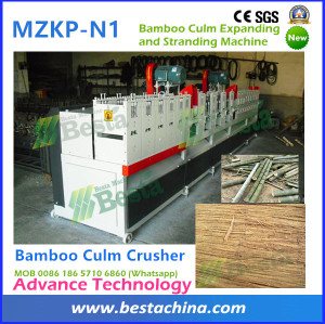 Bamboo Pole Crusher, Bamboo Crushing Machine, Strand Woven Bamboo Flooring Machine