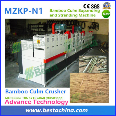 Strand Woven Raw Materials Preparation Machines, Bamboo Culm Crusher  (New technology)