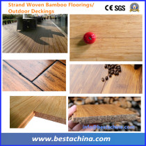 Strand Woven Bamboo Beam Cold Press Machine New Technology YD12-3600