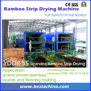 Bamboo Strip Drying Machine, Bamboo Flooring Line (strand woven)