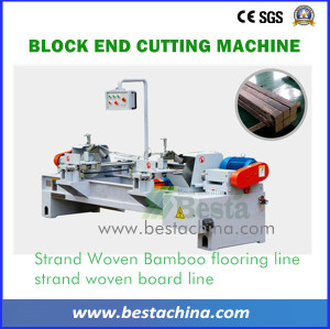Strand Woven bamboo Beam Machine, Two End Cutting Machine