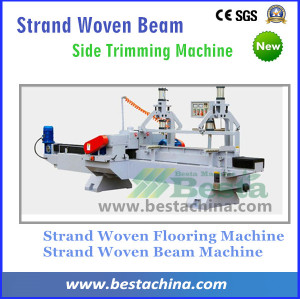 Strand Woven bamboo Beam Side Trimming Machine, Bamboo Flooring Machine