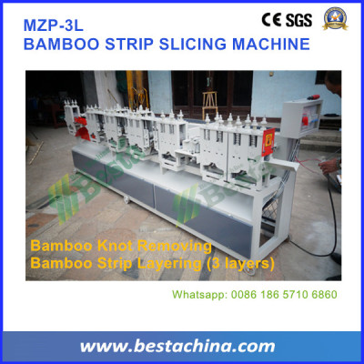 Three Layer Bamboo Strip Slicing Machine, Bamboo Machines