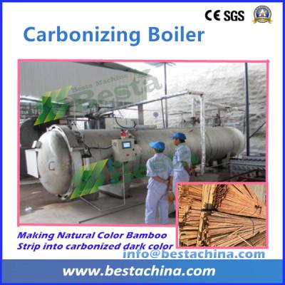 Carboinzing Boiler, Strand Woven Flooring Making Machine