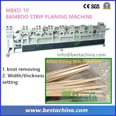 Elementary Planing Machine, Solid Bamboo Flooring Machine