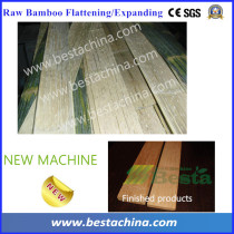 Big Bamboo Flattening Machine, Bamboo Culm Expanding Machine
