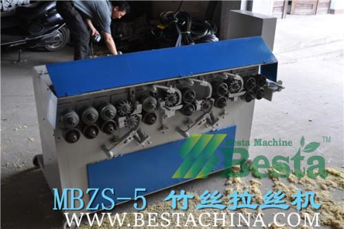 竹丝拉丝机,竹丝加工 设备