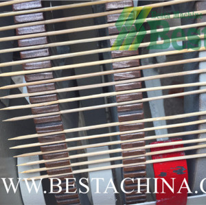 BAMBOO BBQ STICK MAKING MACHINE (WHOLE LINE)