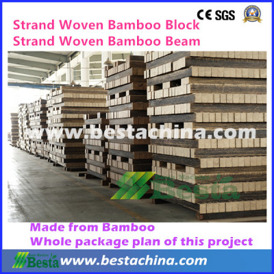 Strand Woven Bamboo Flooring Making Machine (BESTA)
