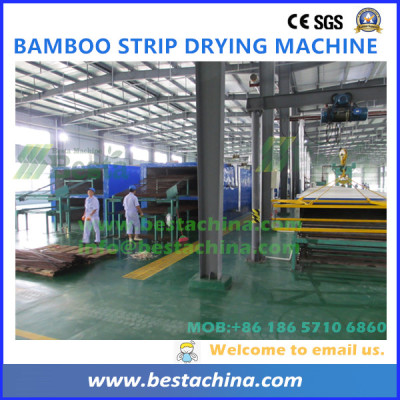 YDDR-55 Strip Drying Machine, strand woven bamboo flooring machine