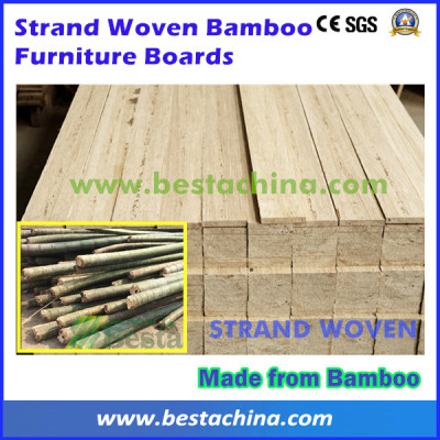 Strand Woven Bamboo Furniture Board Line (Machine Supplier)