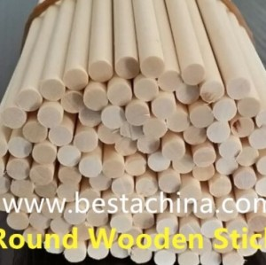 Wooden Stick Making Machine (round stick) 2mm, 6mm