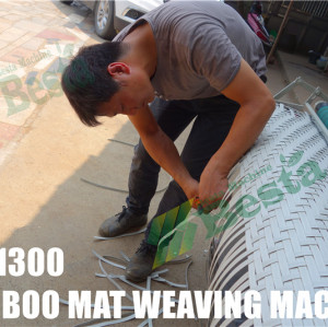 Bamboo Mat Weaving machine (BM-1300 )