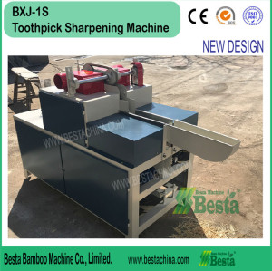 Double pointed toothpick sharpening machine (NEW DESIGN)