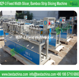 Bamboo Internal & Outside Knot Removing Machine, Width, thickness setting machine