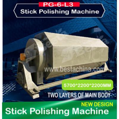 PG-6-L3 Ice cream stick polishing machine (Latest Design)