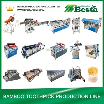 Toothpick Production Line, Bamboo Toothpick Machine (whole set)