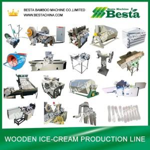 Ice-cream stick making machine (detailed)