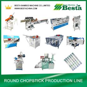 Round Chopstick Making Machine (whole production line)