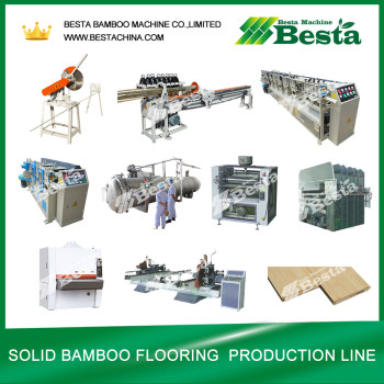Bamboo Furniture Board Making Machine