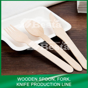 Wooden Spoon Fork Knife Production Line