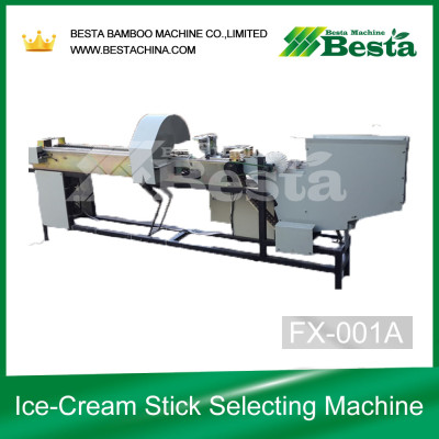 Ice-Cream Stick Selecting Machine (Quality Control)