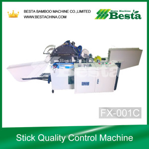 ICE CREAM STICK QUALITY CONTROL MACHINE