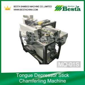 TONGUE DEPRESSOR STICK CHAMFERING MACHINE