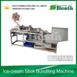 Ice-cream Stick Bundlling Machine BDK114
